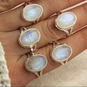Bella Swan Adjustable Moonstone Ring